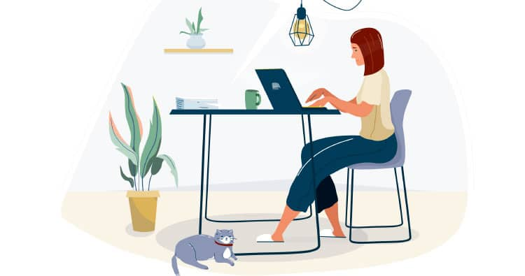4 Insanely productive work from home habits to adopt